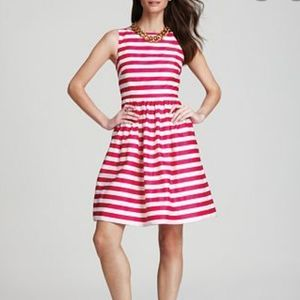 Lilly Pulitzer Eryn pink striped dress - size 2